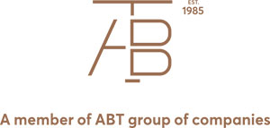 The ABT group logo